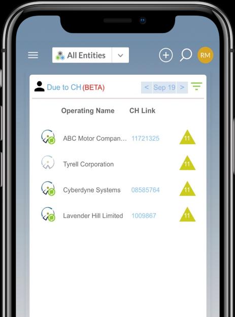CH Tracker mobile